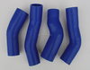 CUSTOM High performance new brand silicone radiator hose For Z32 300ZX intercooler turbo hose silicone blue