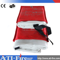 fiberglass welding blanket flame retardant welding fire blanket with grommets