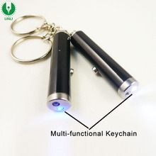 Mini LED Light UV torch Keychain