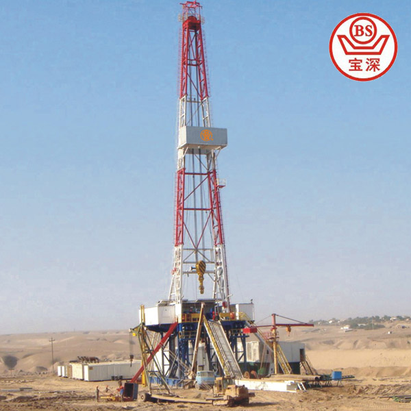 1500hp land oilfield drilling rig for sale