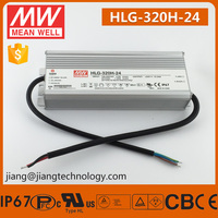 320W 24V 13.34A LED Driver Meanwell Power Supply HLG-320H-24 7 Years Warranty