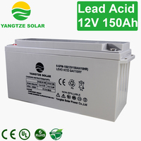low competitive price 12v 150ah solar street light battery