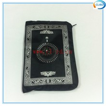 super sale portable prayer rug with compass and zipper travel cheap prayer mat in stock