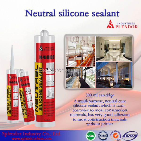 Neutral Silicone Sealant supplier/ kitchen and bathroom silicone sealant supplier/ silicone sealant for synthetic gypsum