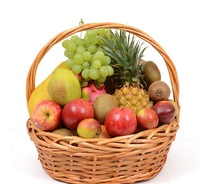 China Factory Wholesale Cheap Price Gift Storage Wicker Fruit Basket