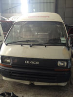 TYT Hiace 3L engine nose cut