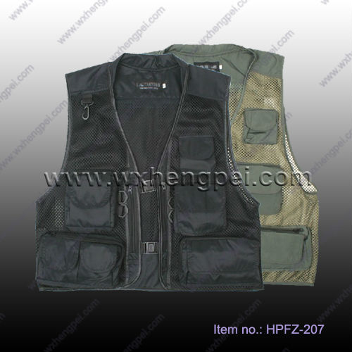 summer mesh photography Vest/ fishing vest/ muti-pockets vests