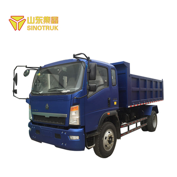 China Brand Sinotruk Widely Used howo 5 ton small dump truck for sale