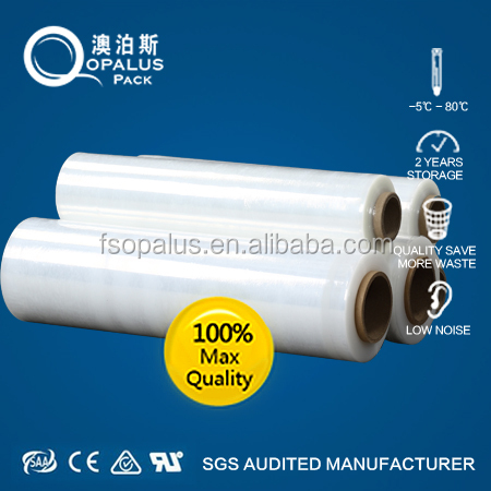 4 roll hand pallet shrink wrap plastic stretch