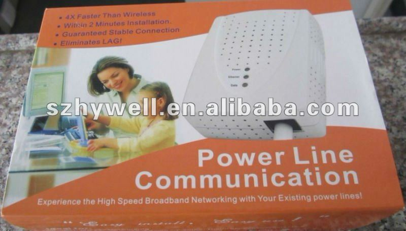 The 200Mbps powerline adapter make Fast Lane to your Internet HD Digital Lifestyle