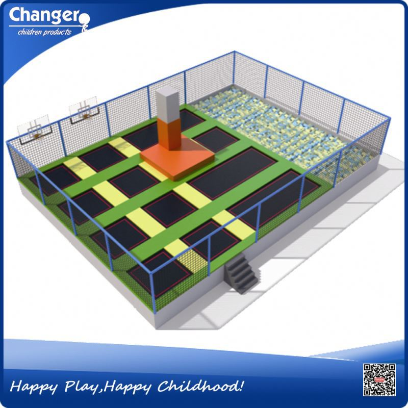 China factory CE standard ISO9001 quality control fitness trampoline with handle