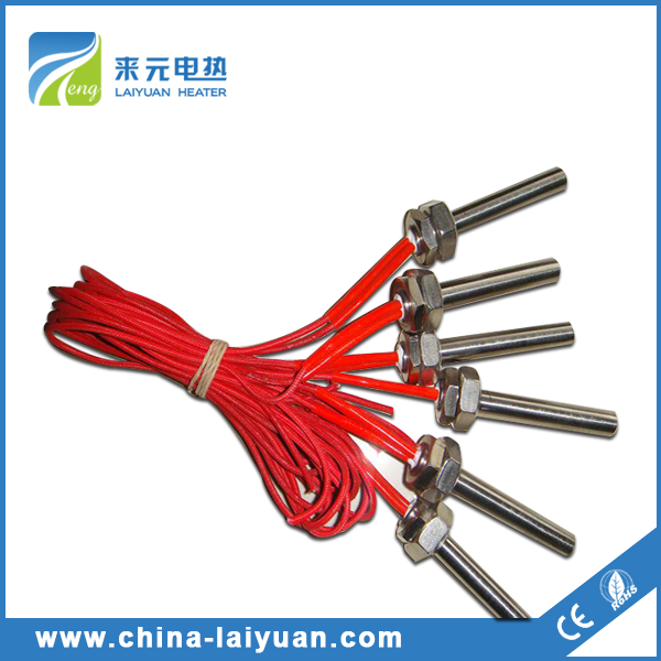 Stainless steel 321 industrial rubber fin element myanmar Electric heater Cartridge heater