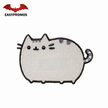 Cute animal cat patch personalized embroidery patch