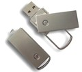swivel metal usb 2.0 8gb memory stick,rotated usb stick