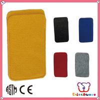 ICTI Factory fashion new style 2014 wool felt case for mobile phone
