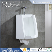 Top selling sanitary ware wall mounted ceramic small men's urinal for bathroom