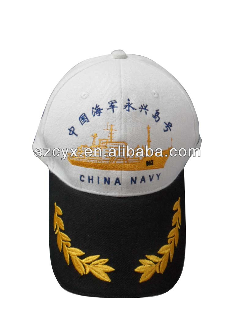 High quality sailor hat,baseball cap