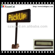 PBMLD-O735-M rechargeable battery to single line Stick LED message sign