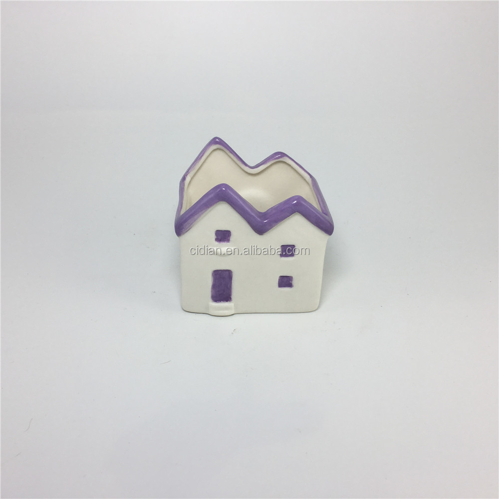 Ceramic Christmas House with magnet