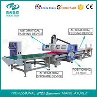 Auto feeding cnc router for wood kitchen cabinet furniture production line 1325