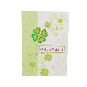 Any Occasion Greenery Best Wishes Greeting Card With Accessory