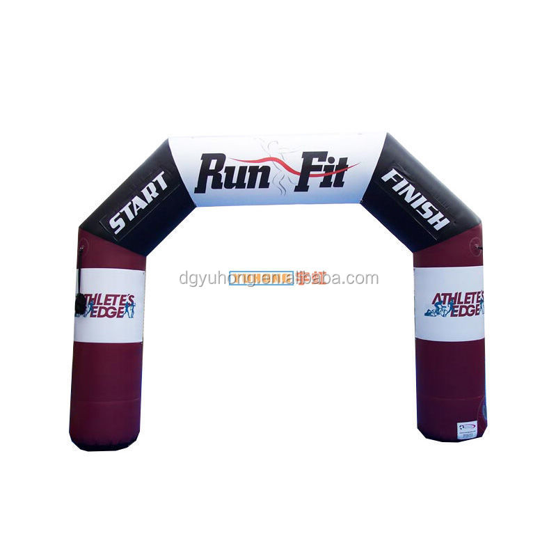 custom inflatable promotion archway for races