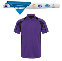 Breathable OEM men wears clothing sports running men bamboo polo t shirt