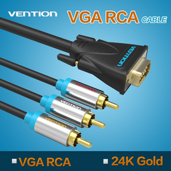 Vention Good Quality VGA RCA Cable