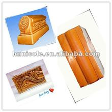 Handmade decorative glazed roof ridge tiles to make building special