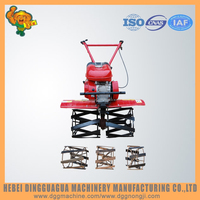 Gasoline Power Type mini paddy weeder with rotavator spares