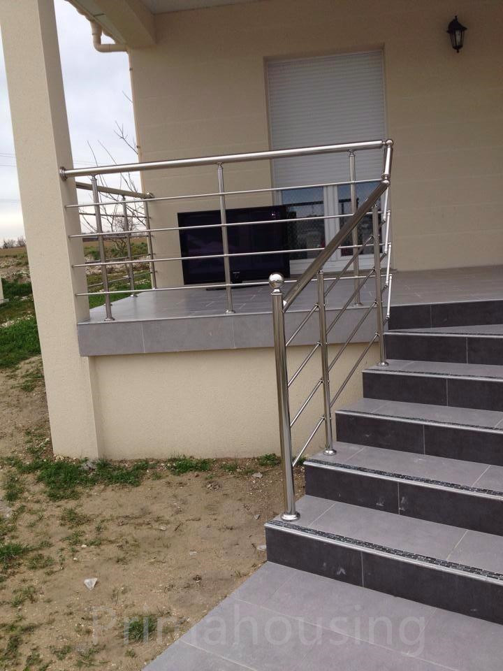 Railing systems stainless steel stair balcony railings