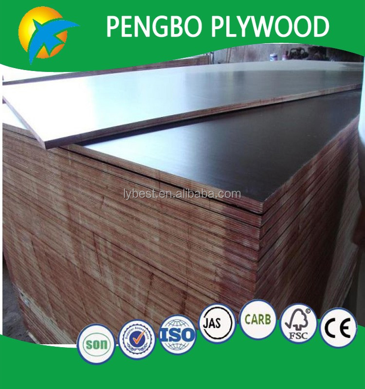 joined core film faced plywod 15mm 18mm 21mm recycle plywood