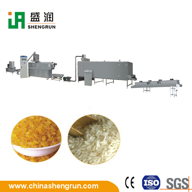Artificial rice nutritional rice production line