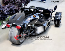 CE Approved water-cooling 250cc 500cc trike/gas trike scooter ZTR