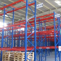 heavy duty warehouse storage rack angle iron rack