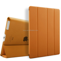real leather 360 rotating stand case smart cover for ipad,tablet case for apple ipad