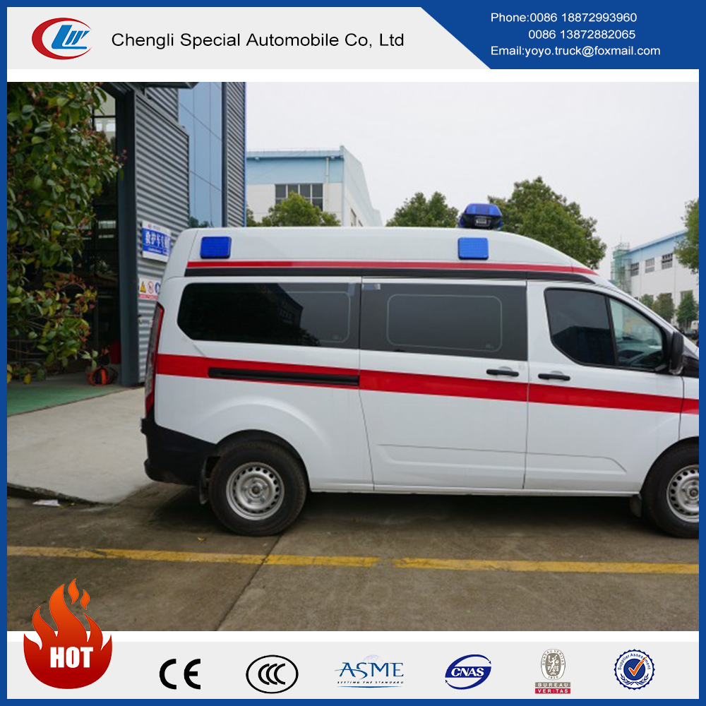 China Factory Directly Sell High Roof Icu Ambulance Car ...
