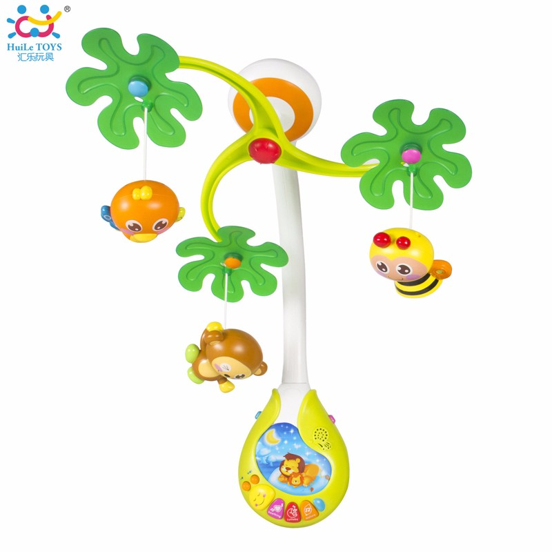Cultivate Crawling Musical Felt Baby Mobile