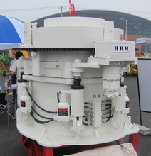 Highest Performance fine HP Series Hydraulic Cone Crusher for Iron Ore Mining