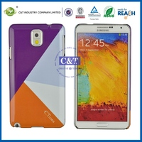 2014 New Fashion Fancy Custom case for samsung galaxy note 3 sublimation cell phone