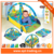 Non-toxic baby play mat carpet with rattle for children mat