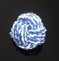 Dog Rope Woven Ball Toy
