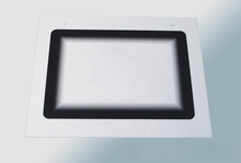 Tempered glass with black silk printing for Oven glass panel