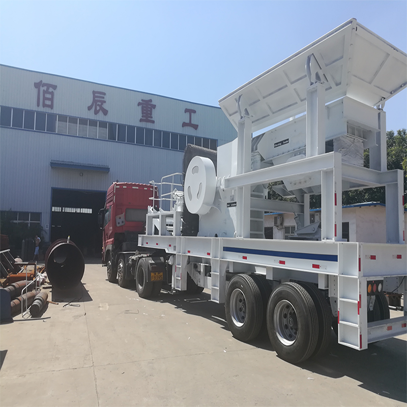 High performance used mobile crusher / mobile mini crusher
