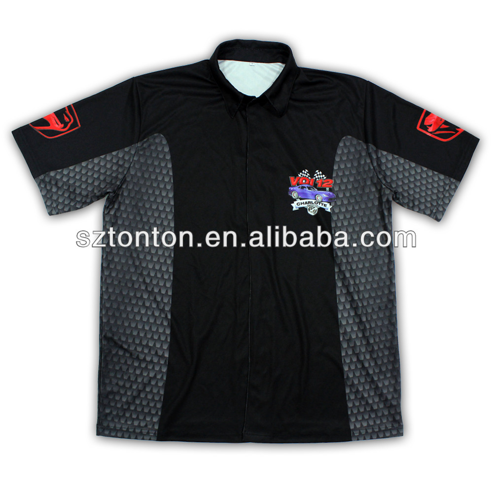 custom hot dye vigorous motor racing jersey 2013