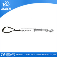 ZJKR metal chain dog leashes link kennel