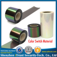 1 Roll Order holographic hot stamping film color switch heat transfer film foil