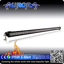 waterproof AURORA NEW upgraded 40inch single row off road lights atv