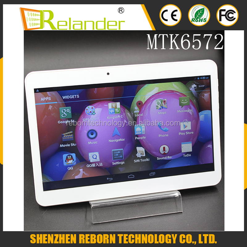 High quality phone tablet MTK6572 dual core tablets 10.1 android 4.4 with 3g gsm sim card slot phone tablet