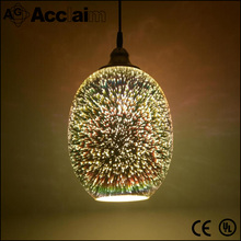 Spherical shape 3D frosted glass g9 incandescent lamp cover pendant light shade